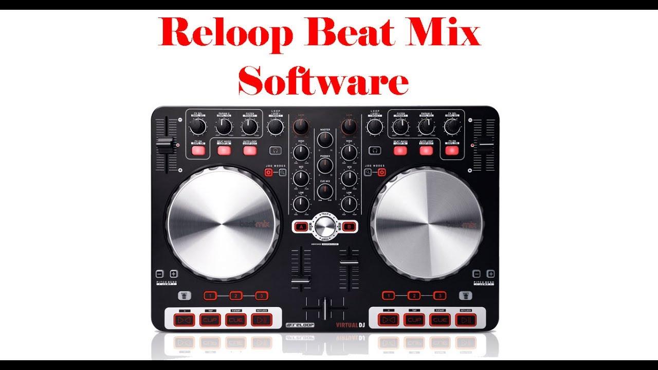 Descargar Gratis Software Para Reloop Beat Mix 1(Virtual Dj)