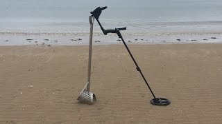 XP DEUS Metal Detecting on a beach on Anglesey