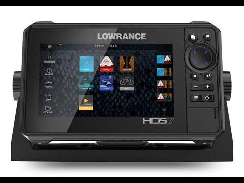 Lowrance HDS-7 Live с датчиком Active Imaging 3&1