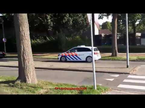Nieuwe Mercedes Politie Met Spoed Naar Melding In Tiel Youtube