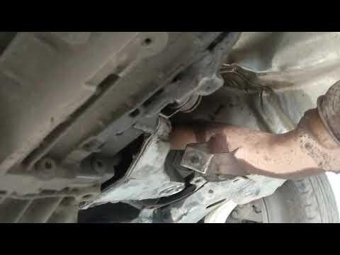 стук под капотом - меняем подушки двигателя Volkswagen B5 1.6L