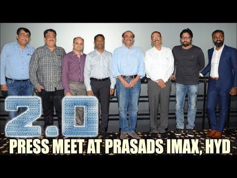 2.0 press meet at Prasads Imax, Hyderabad - idlebrain.com