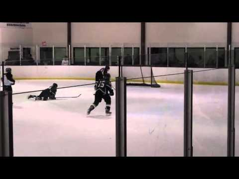 Fort to Rogers to Blair hockey goal--- open netter