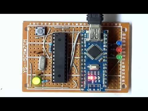 How To Burn Arduino Bootloader And Sketch For ATMEGA8 ?