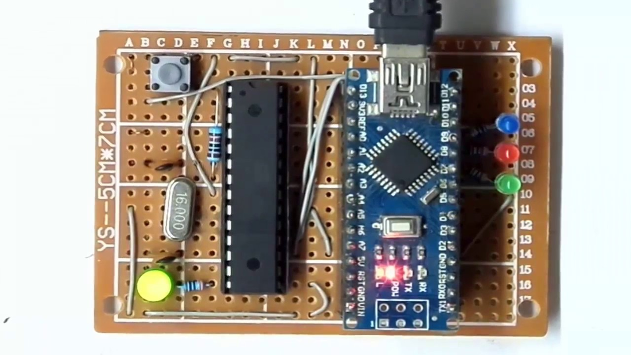 How to burn arduino bootloader and sketch for atmega