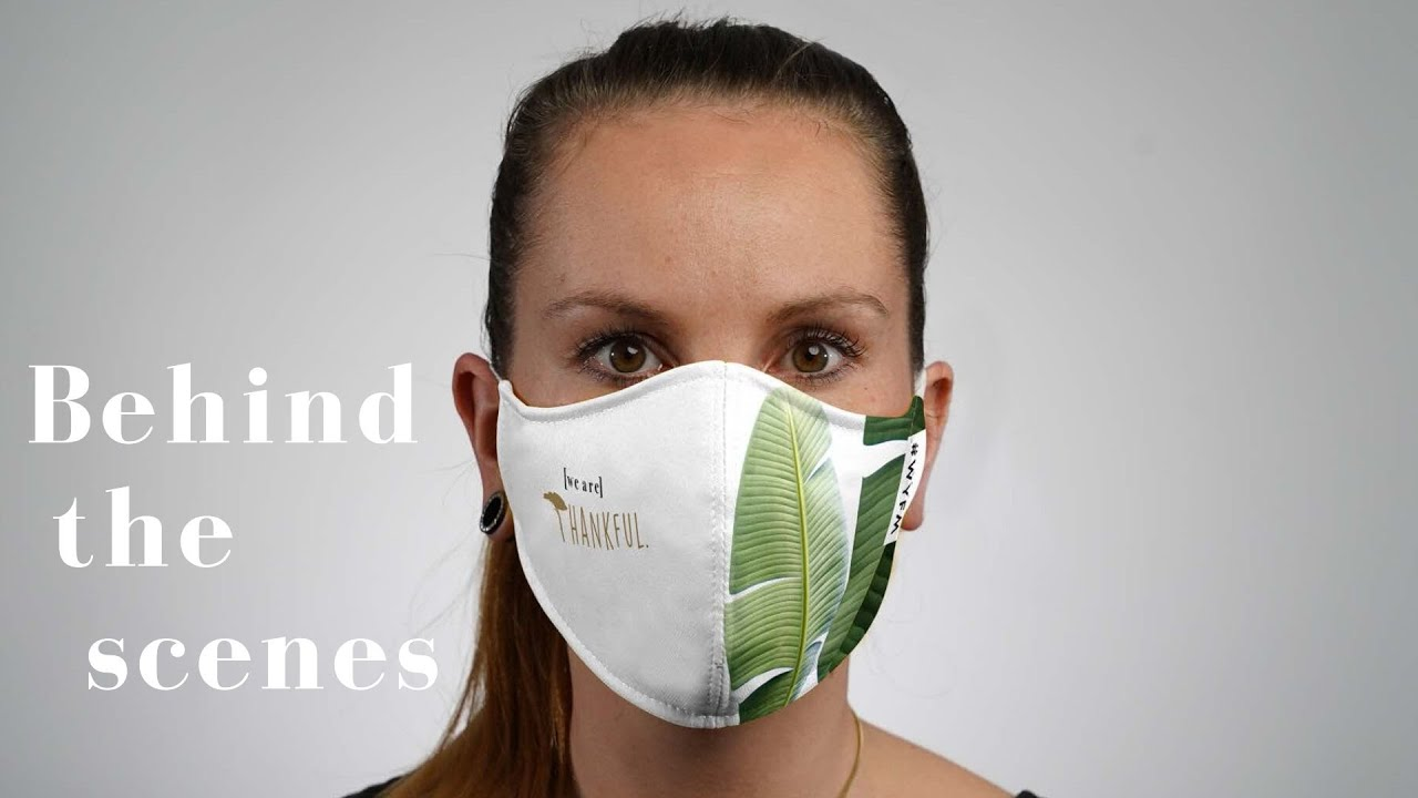 Schutzmasken Produktion