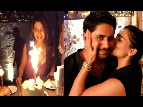 Naga Chaitanya Surprises Samantha   Samantha Birthday Celebrations