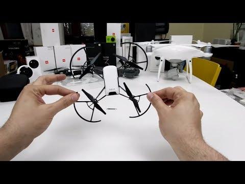 Το καλύτερο Drone στα 100€!; Dji/Ryze Tello,το Tello πολύ!