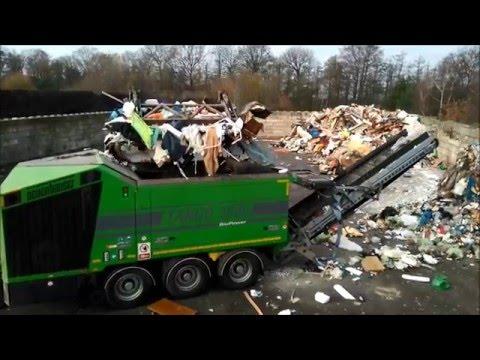 Neuenhauser TARGO 3000 single shaft shredder shredding industrial waste