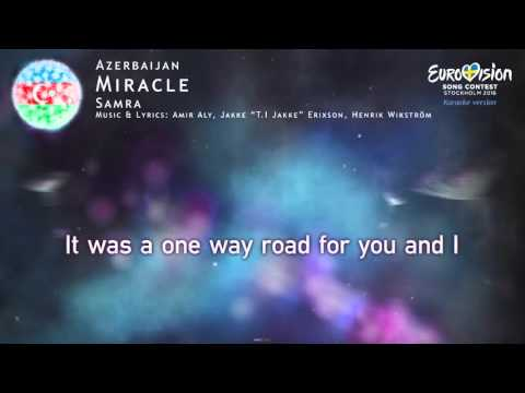 Samra - Miracle (Azerbaijan) - [Karaoke version]