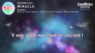 Samra - Miracle (Azerbaijan) - [Karaoke version]