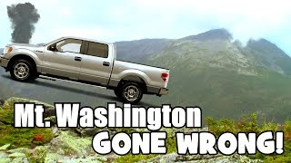 Driving Up Mount Washington GOES WRONG... But Ends Great :)