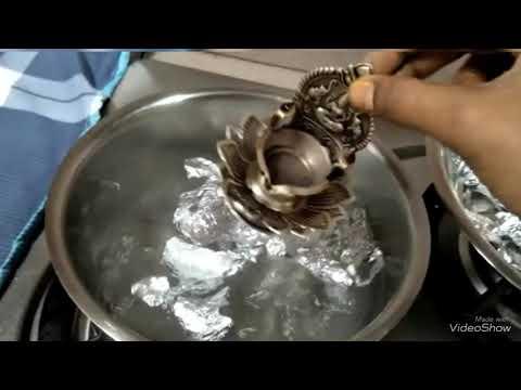 வெள்ளி பொருட்களை சுத்தம் செய்வது எப்படி | How to clean Silver Anklet | Silver cleaning tips