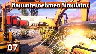 BAUUNTERNEHMEN SIMULATOR 🏗️ Die Goldmine und das WC ► #7 Demolish And Build 2018 deutsch