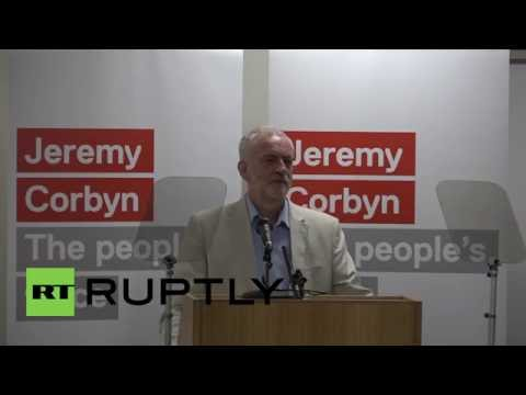 UK: Jeremy Corbyn launches bid to remain Labour leader