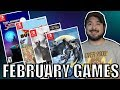 The BEST Nintendo Switch Games for February 2018! | 8-Bit Eric
