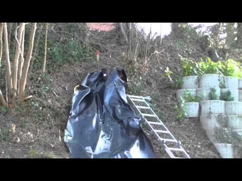 gartenteich mit bachlauf – wasserfall selber bauen#3 das macht, Garten und Bauen