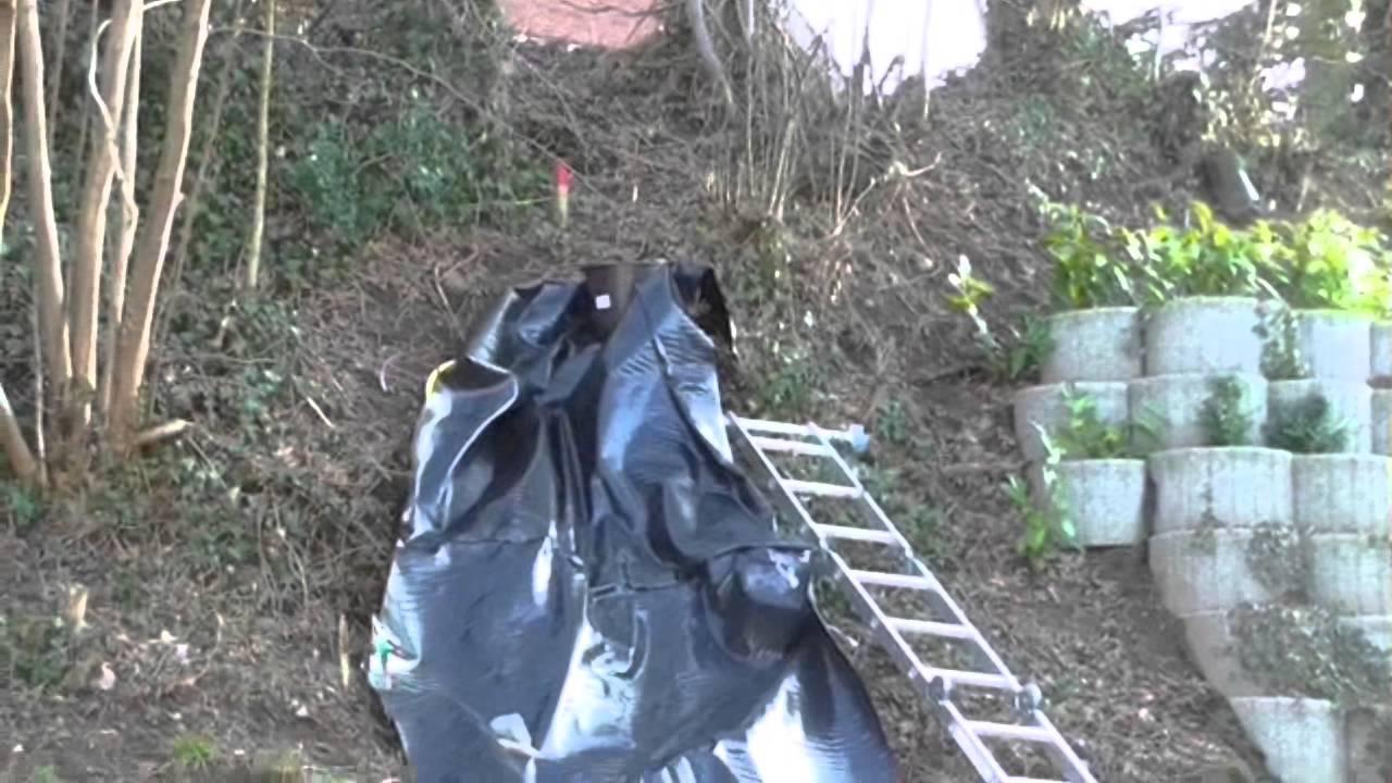 Gartenteich mit bachlauf wasserfall selber bauen 3 das for Gartenteich edelstahl