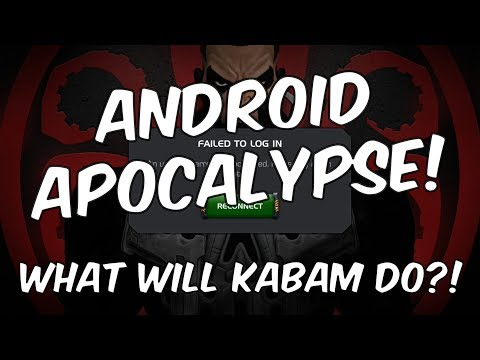 Android Apocalypse! - What Will Kabam Do?! - Marvel Contest Of Champions