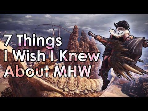 Monster Hunter World: 7 Tips I Wish I Knew Before I Started (Beginner Tips) thumbnail
