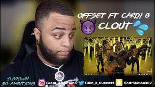 Offset - Clout feat. Cardi B (Official Music Video)‼️REACTION‼️