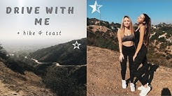 HIKE + TOAST BAKERY CAFE | DRIVE WITH ME
