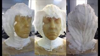 How to make a foam latex cowl