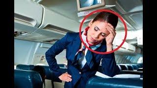 Стюардесса в самолёте просила мужчину выключить телефон. Он повернулся к ней и сказал: Да пошла ты!