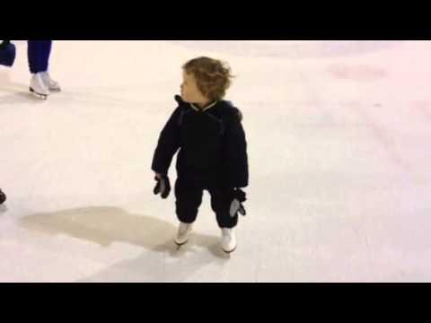 Maxim and his skating buddies