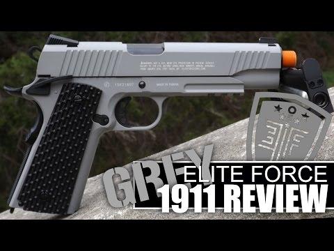 GREY ELITE FORCE 1911 TAC REVIEW