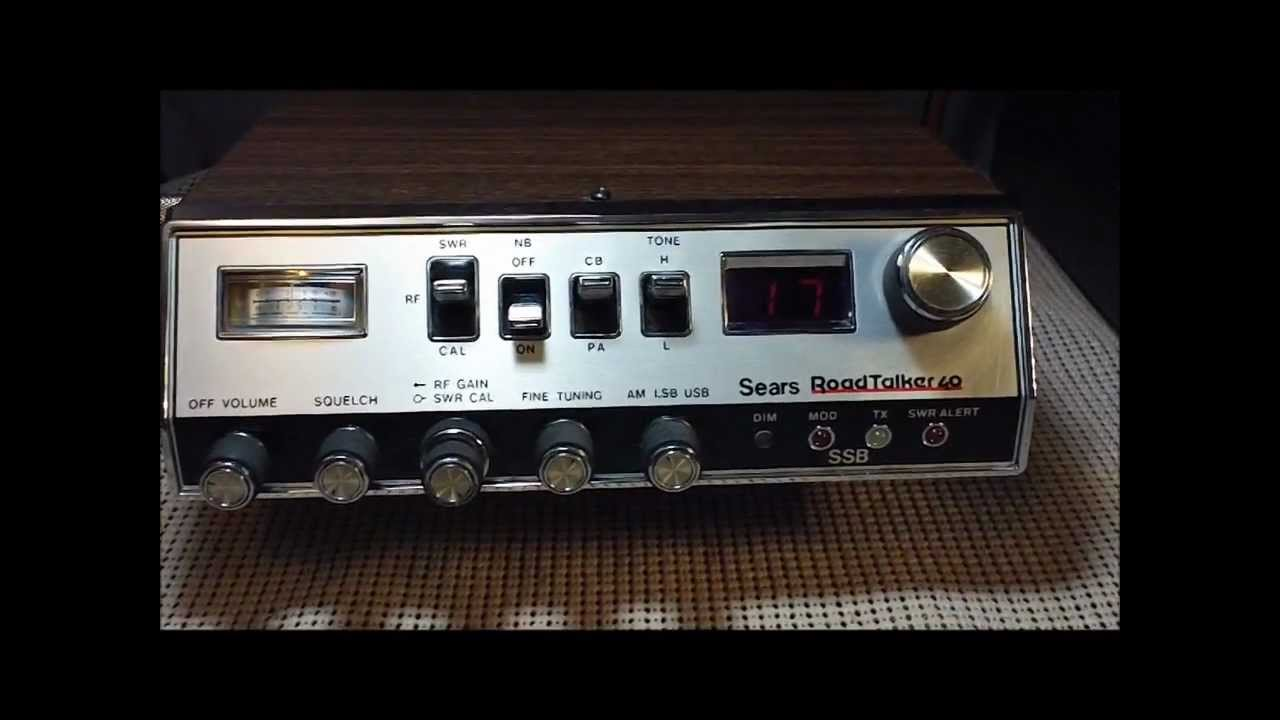 Sears Road Talker 40 Ssb Am Slant Face 93438270700 Cb Radio Base Or. Sears Road Talker 40 Ssb Am Slant Face 93438270700 Cb Radio Base Or Mobile. Wiring. Ward Cb Microphone Wiring Diagram At Scoala.co