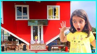 Antalya Ters Eve Gittik, Kapalı Olduğu İçin Etrafı Gezdik l Eğlenceli Çocuk Videosu