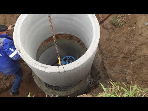 Стоим КНС #1 канализационная насосная станция
