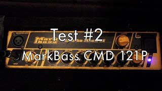 Mark Bass CMD 121P - Test #2
