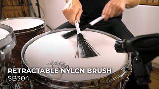 MEINL Stick & Brush Retractable Nylon Brush SB304