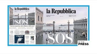 SOS: Venice is drowning!
