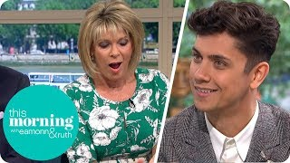 Britainand39s Got Talent Magician Ben Hart Shocks Ruth With Voodoo Card Trick  This Morning