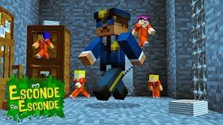 Minecraft: PEQUENOS NA PRISÃO! (Esconde-Esconde)