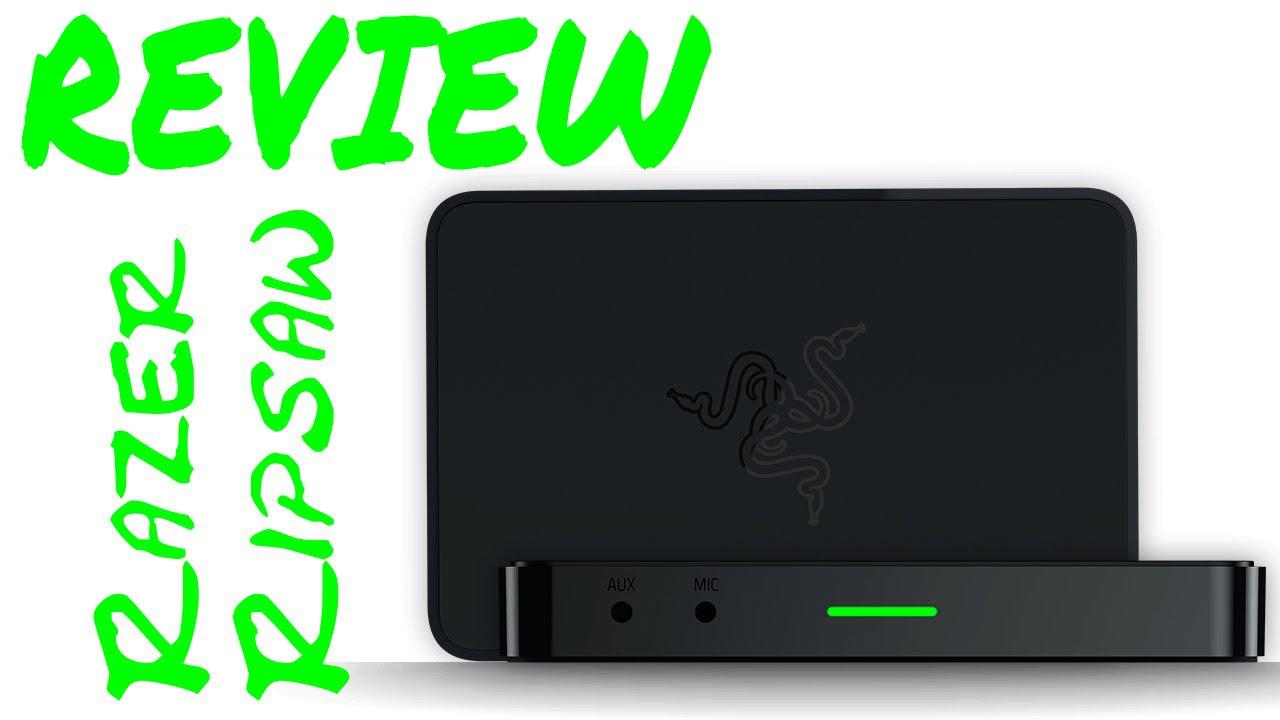 Review: Razer Ripsaw Game Capture Card [DE   4K] - YouTube
