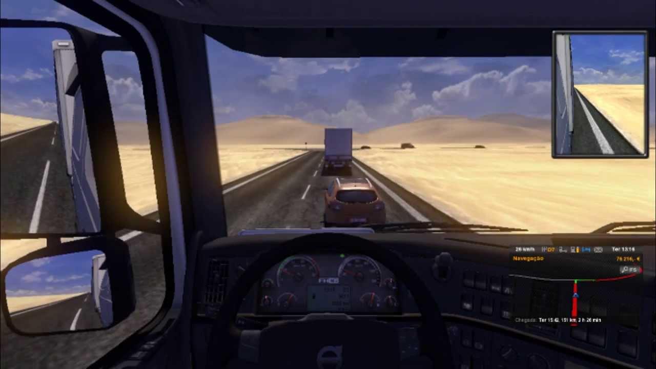 Euro Truck Simulator Gameplay New Map Espanha Portugal YouTube - Portugal map euro truck simulator 2