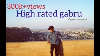 Dance on || high rated gabru || guru randhawa || choreograph by mayank tomar