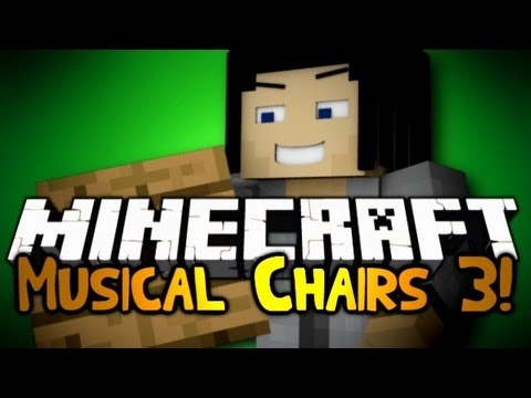 Minecraft: Mini Game: Musical Chairs! #3 w/ Gizzy & Friends!