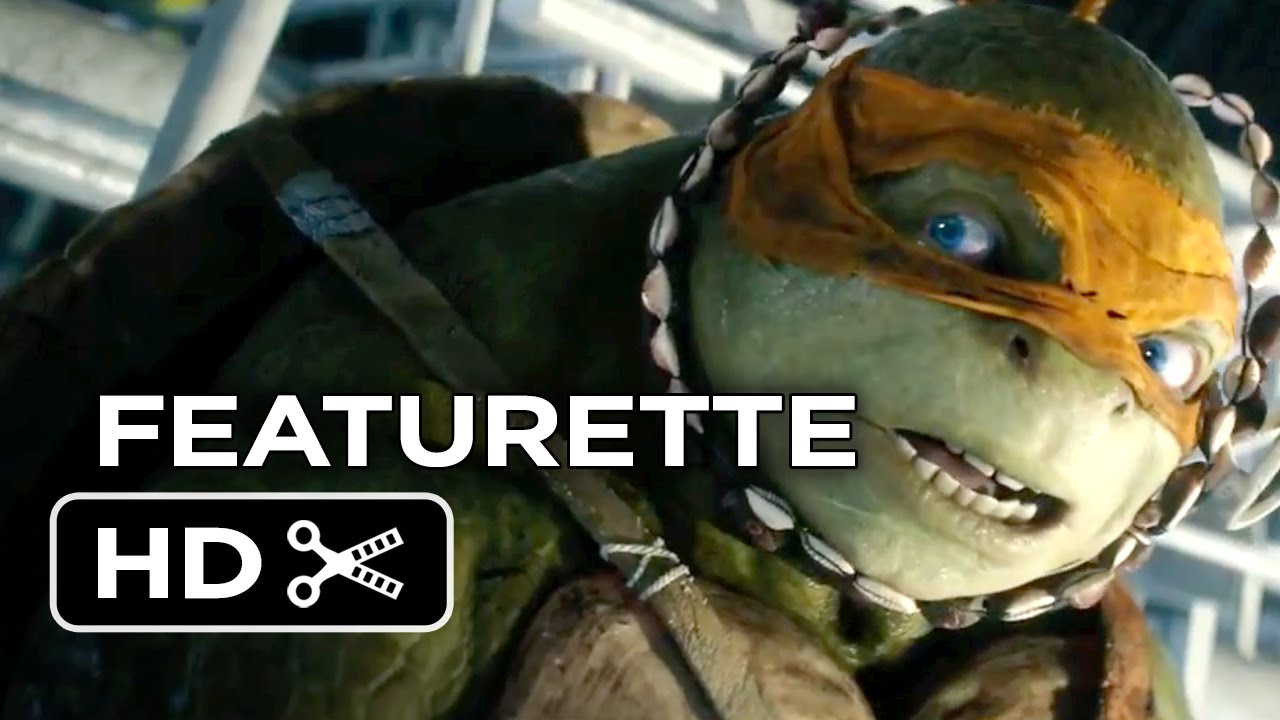 Ninja Turtle Quotes Teenage Mutant Ninja Turtles Featurette  Meet Michaelangelo 2014