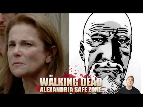 The Walking Dead Season 5 - Alexandria Safe Zone Survivors Explained!