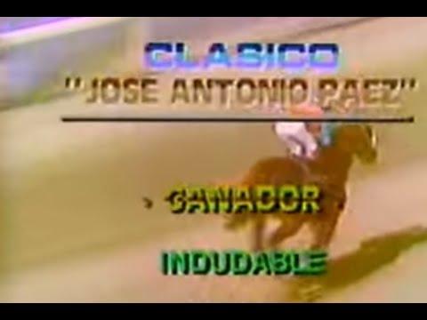INDUDABLE con Jose Padron Clasico Jose Antonio Paez 1984...!!!