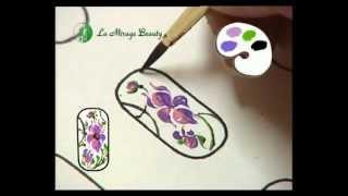 Миниатюрная роспись ногтей. Часть 2
