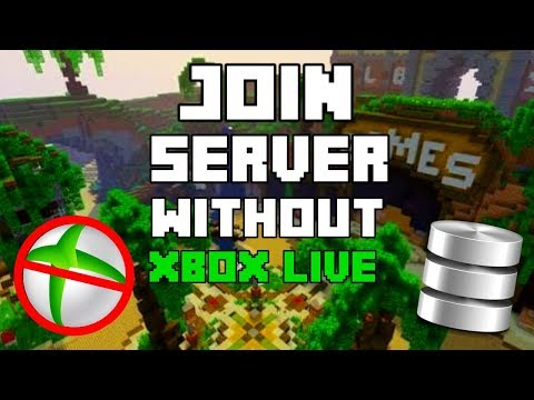 HOW TO JOIN MCPE SERVERS WITHOUT SIGNING IN TO XBOX LIVE // join crazedcraft