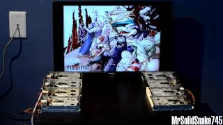 Repeat youtube video FF6 - The Decisive Battle on Eight Floppy Drives
