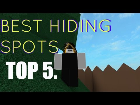 Hide And Seek Extreme Roblox Youtube Top 5 Hide And Seek Extreme Hiding Spots Roblox Youtube