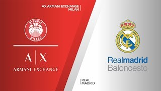 AX Armani Exchange Milan - Real Madrid Highlights | Turkish Airlines EuroLeague, RS Round 27